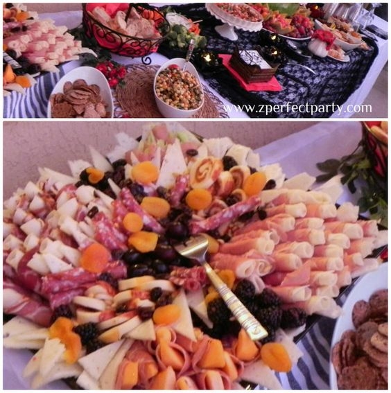 Spanish theme tapas and paella birthday party ideas for Appetizers decoration