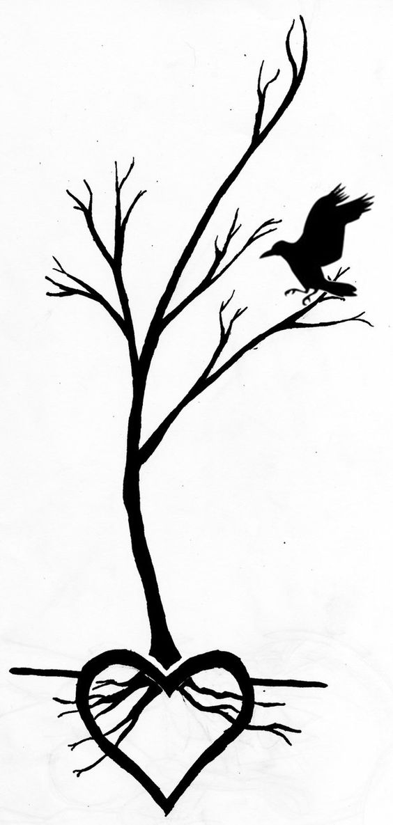 simple tree tattoo | Tree tattoo by K-osSuburb | tattoos ...