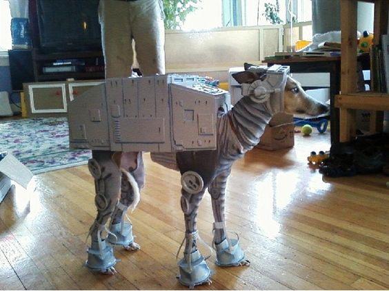 Dog AT-AT Costume