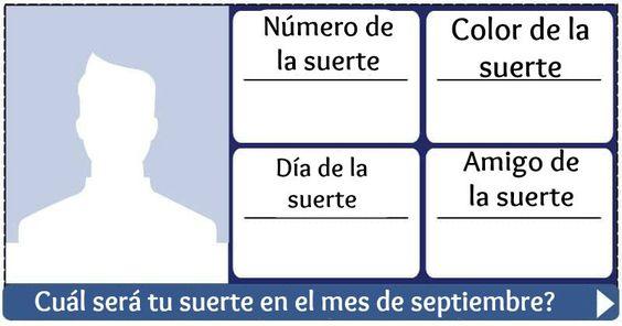 Cuál será tu suerte en el mes de septiembre?