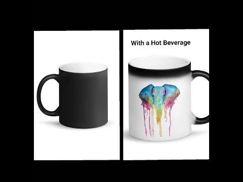 Elephant Color Changing Mug Demonstration Of Color Changing Cup