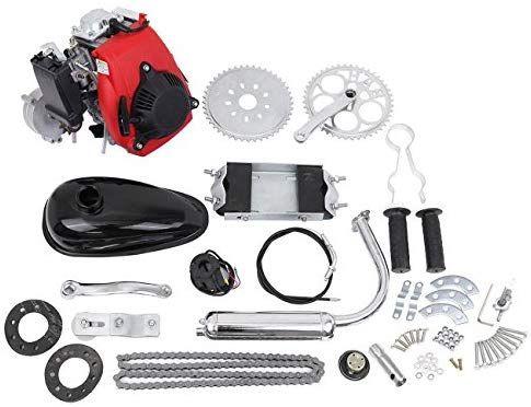 Amazon Com 49cc 4 Stroke Gas Petrol Motorized Bike Bicycle Engine