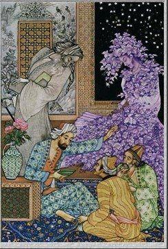 behzad - persian miniature - modern