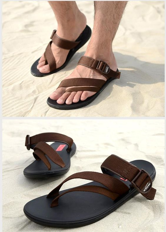 Aliexpress.com: Comprar 2015 el nuevo verano coreano hombres de Flip Flop Vietnam zapatos de playa pellizcar roma Shoes transpirable suela de goma zapatillas exterior de Sandalias fiable proveedores en mummy love