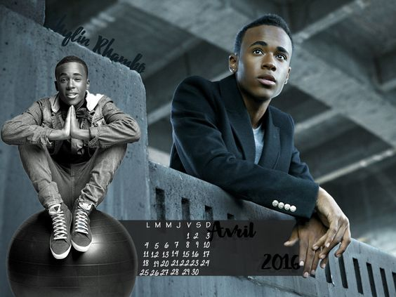 Calendrier Avril 2016 #TeenWolf #KhylinRhambo https://www.hypnoseries.tv/teen-wolf/