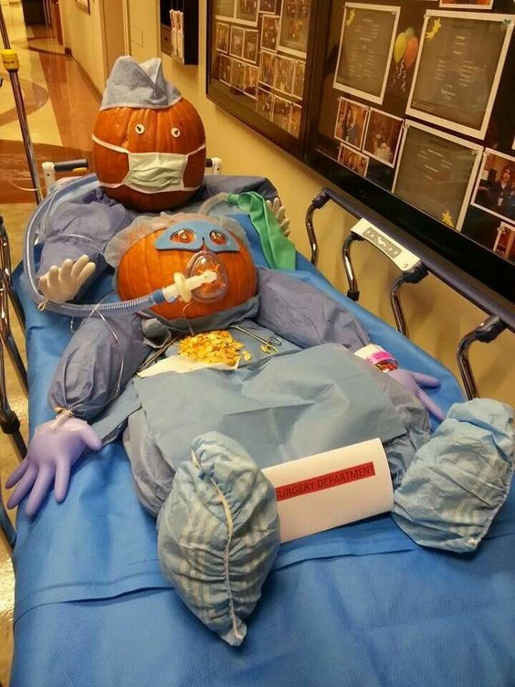 Trauma Room Design: Hilarious Stuffed Pumpkins
