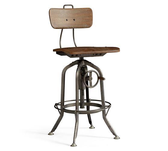 Francisco Draft Desk Office Desk Pottery Barn Bronze