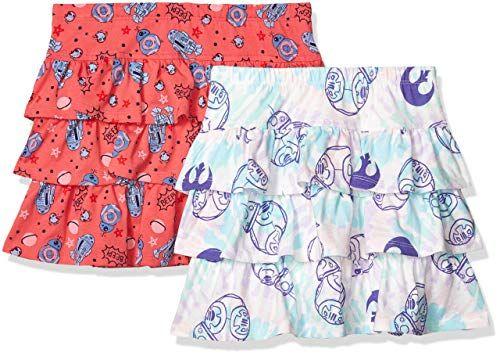 Cadocado Girls Bikini Swimsuit Banana Print Cross Back Swimwear High Neck Bathing Suit