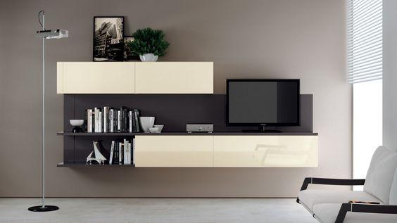 台中系統家具 多層次電視櫃設計 -台中系統家具│系統櫥櫃工廠直營│亞立斯室內設計系統傢俱