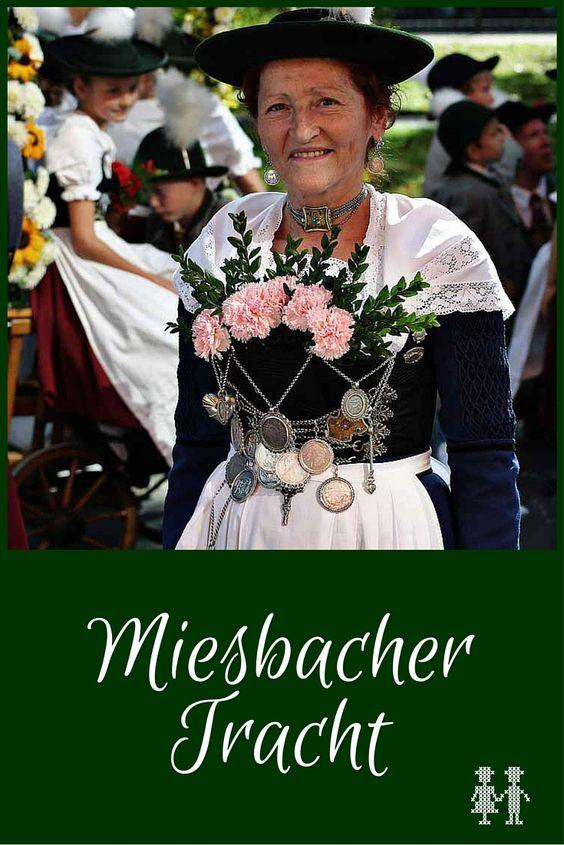 Die Miesbacher Tracht gehört zu den bekanntesten Trachten in Bayern. Je nach Anlass gibt es unterschiedliche Tragevarianten.