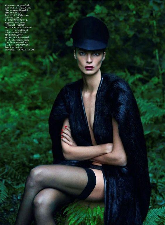 Daria Werbowy | Vogue Paris