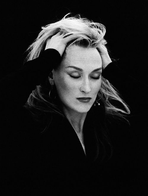 Meryl Streep I THINK THIS WOMAN IS REMARKABLE. SHE IS TRULY GIFTED WITH AN OUTSTANDING TALENT. I AM HUMBLED BY HER ART!