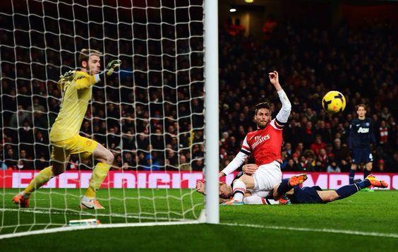 Arsenal 0 Manchester United 0 - So close!
