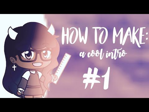 How To Make A Cool Intro Read Desc Youtube Anime Art Beautiful Anime Poses Reference Intro