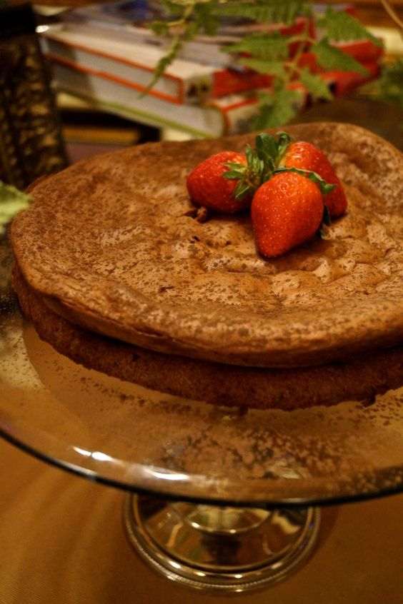 Flourless chocolate cake -- DiabeticKitchen