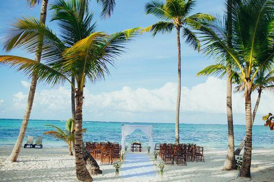 Cenário da cerimônia - Destination Wedding Punta Cana