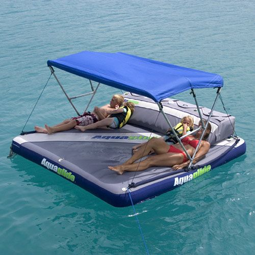 We're  not really boat people...but occasionally...we like to float on water. This is TOTALLY doable. Maybe buy this spring?: