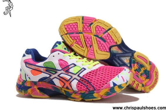 Asics Gel Noosa Tri 7 Mens Cherry Pink White Volt Royal Blue Sports Shoes Shop