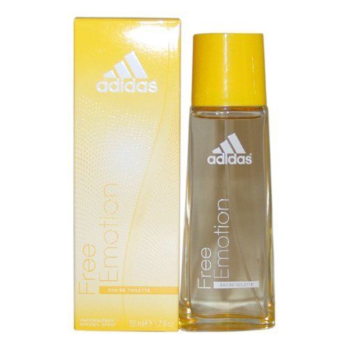 Adidas Free Emotion By Adidas for Women Eau-de-toilette Spray, 1.7 Ounce by adidas. $8.81. 1.7 oz EDT Spray. Adidas Free Emotion by Adidas for Women - 1.7 oz EDT Spray. It is recommended for casual wear. Adidas Free Emotion was launched by the design house of Adidas. This product is a fragrance item that comes in retail packaging. It is recommended for casual wear.When applying any fragrance please consider that there are several factors which can affect the natural s...