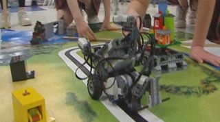 Local school using robotics to get students interested in technology careers