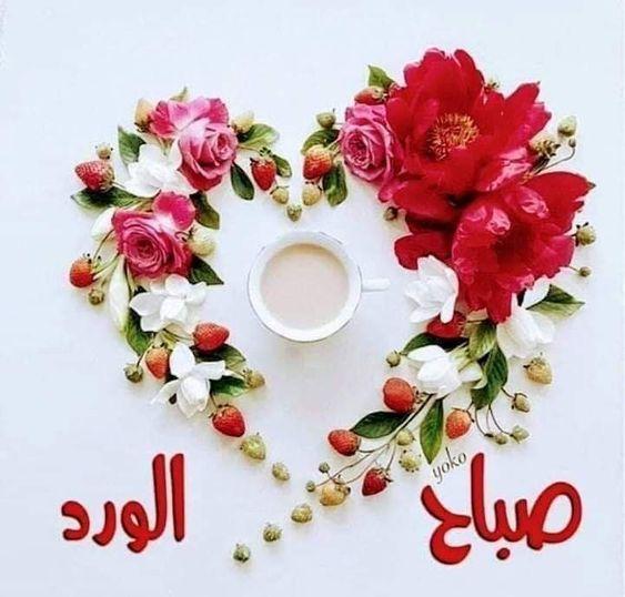 طلع فجر جديد وطاف بخاطري للأحبة دعاء اللهم ياخالق آدم من تراب وجاعل الجنه لمن صلى وتاب أ Good Morning Greetings Morning Greeting Floral Wreath