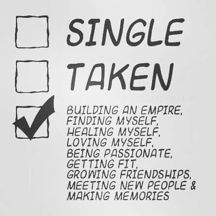 Status: Building an empire, finding myself, healing myself, loving myself, being passionate, getting fit, growing friendships, meeting new people & making memories. I should add finding a smart, funny, attractive, honest and romantic woman. And a unicorn while I'm at it.: