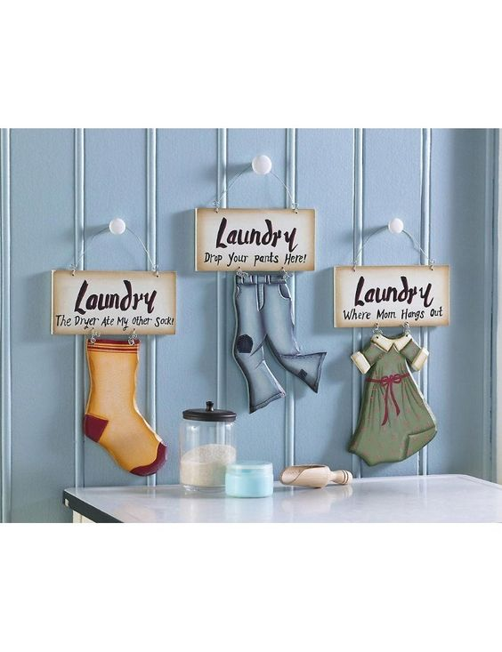 Laundry Room Wall Decor Bubbles And Suds Pinterest