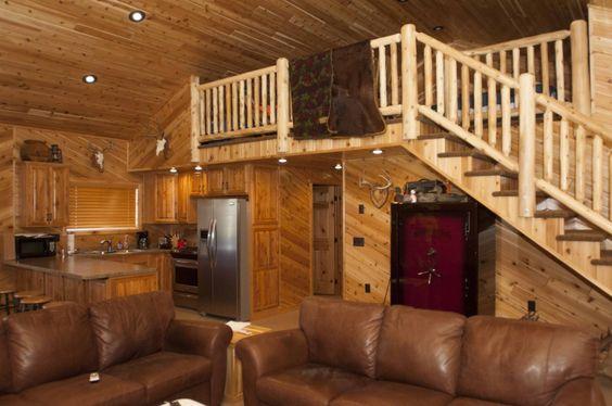 Morton buildings machine storage living quarters in north for Living quarters loft
