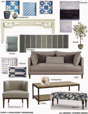 JILL SEIDNER | INTERIOR DESIGN: Concept Boards