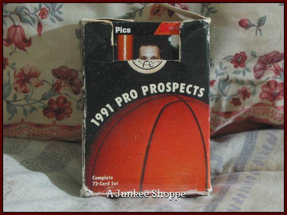STAR PICS Basketball Pro Prospects 1991 72 Card Set Damaged Box   Junk0865  http://ajunkeeshoppe.blogspot.com/