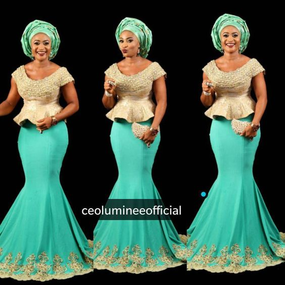 Step up your game with these eye-popping and uber-classy Aso-Ebi styles - Wedding Digest Naija: