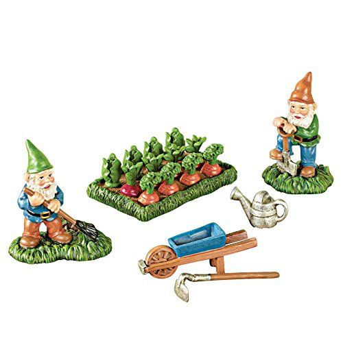 Miniature Gardening Gnomes Statues   6 Pc Set     See this great image. Miniature Gardening Gnomes Statues   6 Pc Set     See this great