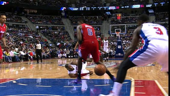 Greg Monroe Through the Legs Pass From the Ground