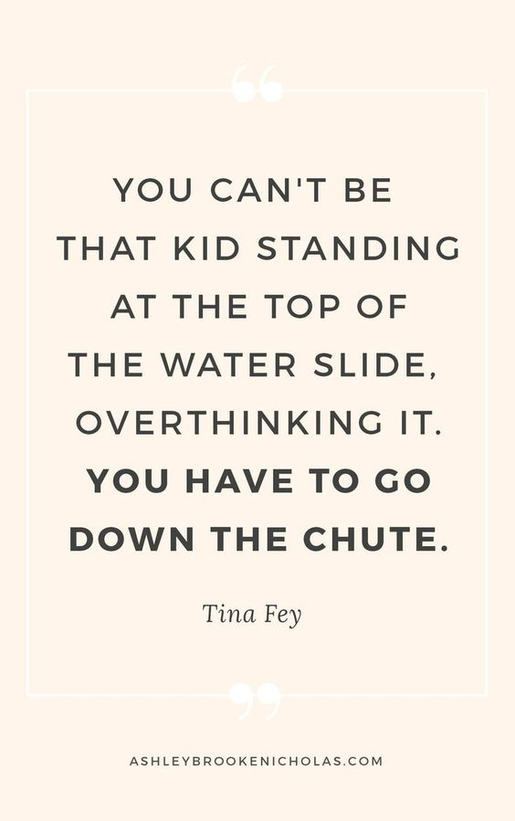 Yep, Tina Fey is definitely a genius. If you'd like to read more inspiration quotes, click through this pin to read 11 of the best quotes from Tina Fey and Amy Poehler put together by blogger Ashley Brooke Nicholas.
