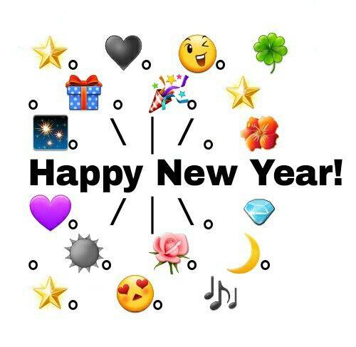 Happy New Year 2019 Emoji Animated Pictures Happy New Year Emoji