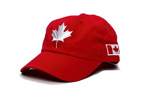 Canada Dad Hat Canadian Maple Leaf Cap Flag Embroidered Unisex Adult Dad Hats Canadian Flag Unisex Adult