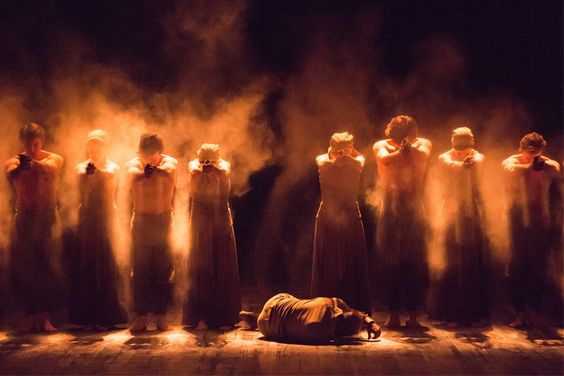 Akram Khan's Dust as part of Lest We Forget. © Photography by ASH. | by English National Ballet