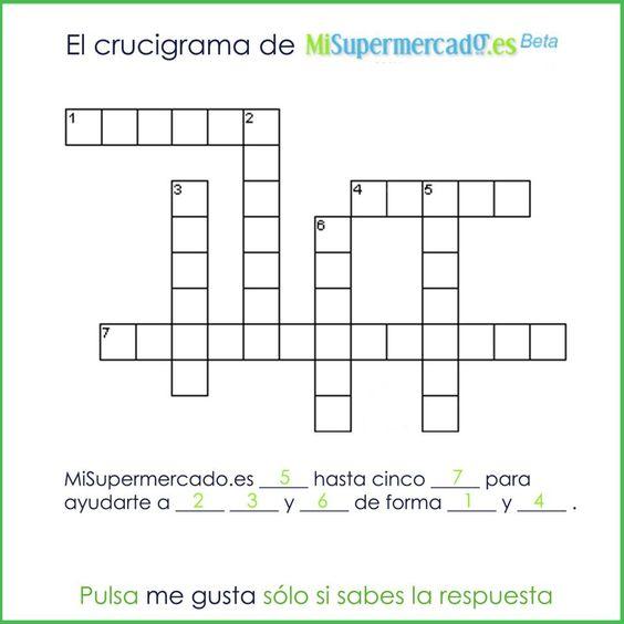 Otro pasatiempo de MiSupermercado.es