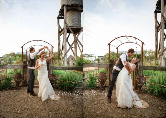 Bride & Groom, Flower Girl, Wedding Photography Country, Vintage, 2014, Wedding Photography - Little Black Birdy Photography, Providence Gully Farm Castlemaine http://littleblackbirdy.com