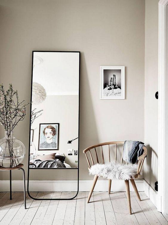 Tati Mirror Living Room Scandinavian Scandinavian Interior Design Inspiration Living Room Designs