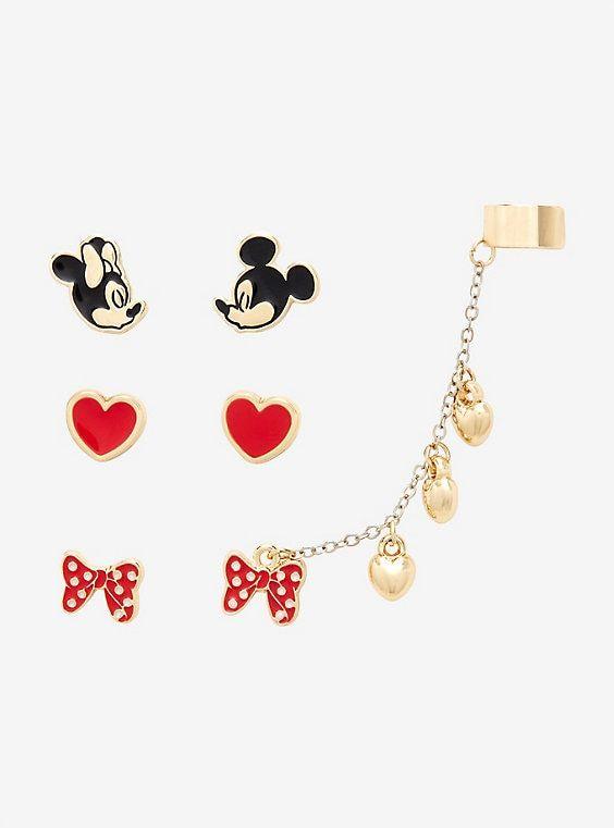 DISNEY MICKEY and MINNIE love earrings