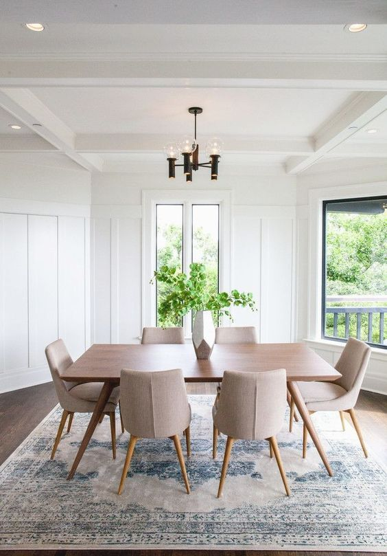 How To Choose The Perfect Dining Table Design Mid Century Modern