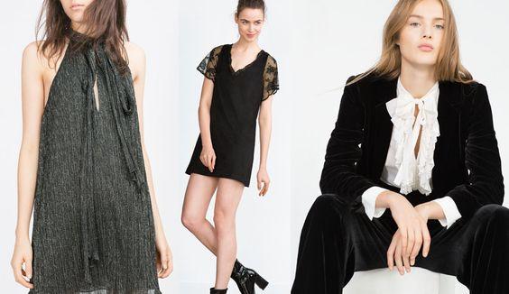 Moda de fiesta Navidad 2015: Zara; H&M, Primark, Stradivarius, Blanco - http://www.bezzia.com/moda-de-fiesta-navidad-2015-zara-hm-primark-stradivarius-blanco/