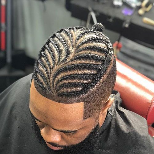 45+ Mens braids with fade ideas in 2021