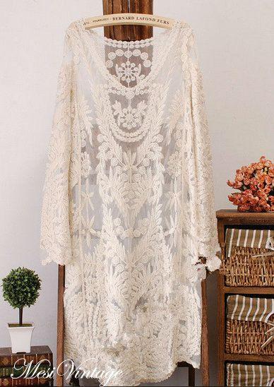 En todo el mundo envío gratis vestido de blusa de por MesiVintage, $43.00