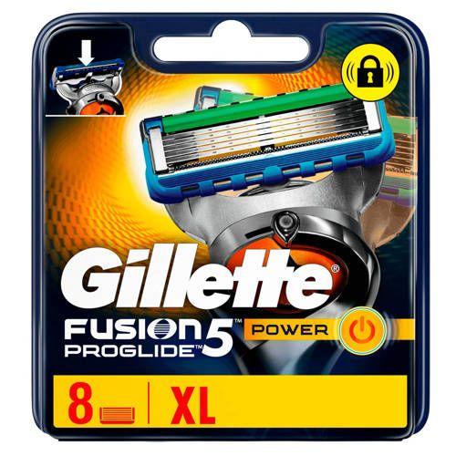 Gillette Fusion5 Proglide Power 8 Scheermesjes In 2020 Bakkebaarden En Scheren