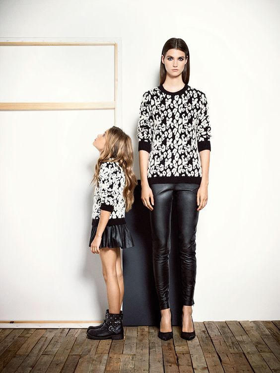 ALALOSHA: VOGUE ENFANTS: Mini Me collection from Mango AW13/14 lookbook