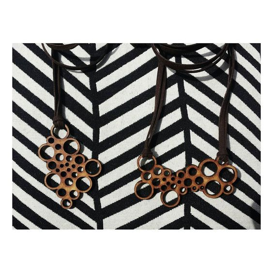 Elos. #fabricado #parametric #digitalfabrication #lasercut #design #necklace #jewelry by fabricado