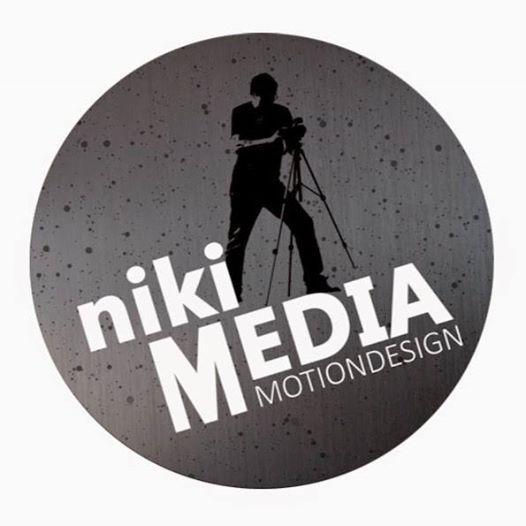 LOGO für nikiMEDIA Motiondesign by FRÜHAUFpixx | www.fruehaufpixx.info