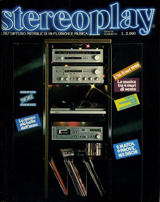 Stereoplay Annata 1980
